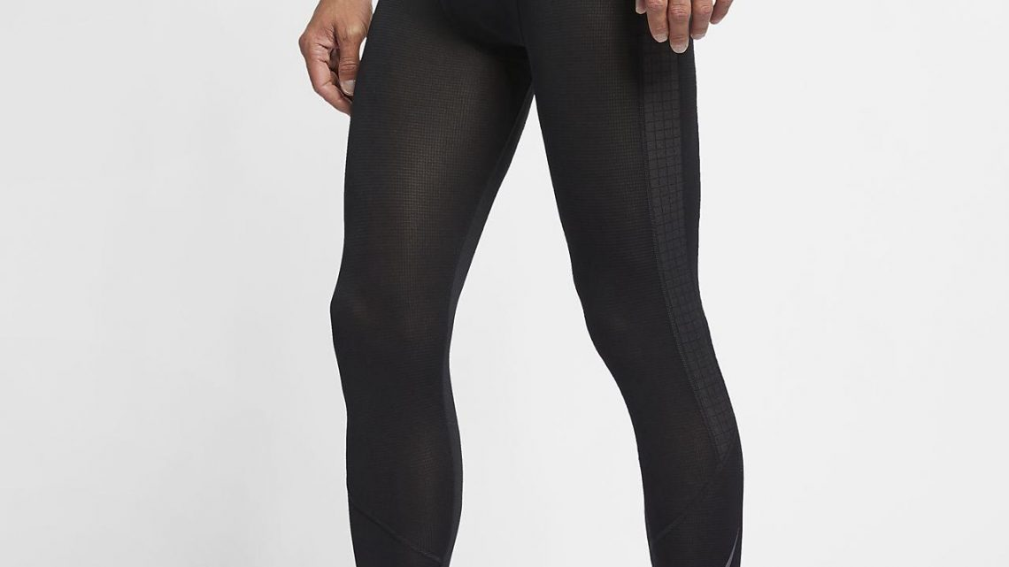 Collant 3 4 running homme nike