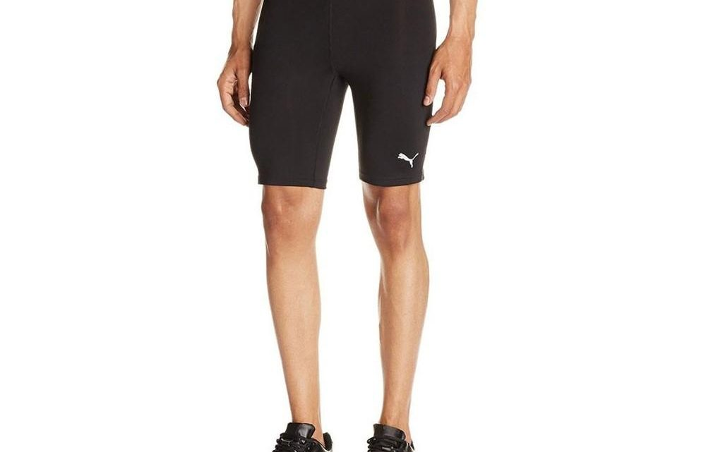 Short collant running homme